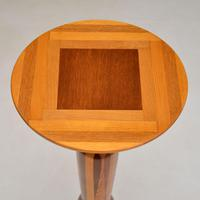 Vintage Inlaid Fruitwood Plant Stand / Jardinière Table (7 of 9)