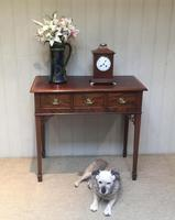 Inlaid Mahogany Side Table (9 of 10)