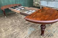 Super Quality Victorian Mahogany Extending Dining Table Seats 14 (14 of 18)
