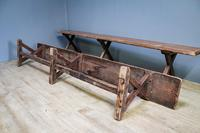Pair of Pine Benches (4 of 8)