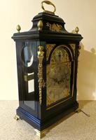 Exceptional 18th Century Verge Bracket Clock – John Pritchard of London (2 of 7)