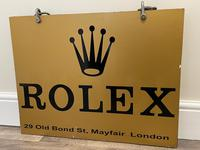 Rolex Shop Front Adverting Heavy Swinging Sign Mayfair London (7 of 27)