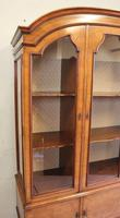 Quality Antique Walnut Display Cabinet (9 of 19)