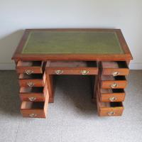 Walnut Pedestal Desk (7 of 9)