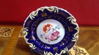 Pair of Ridgways Porcelain Decorated Botanical Plates (3 of 5)