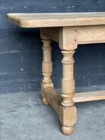 French Bleached Oak Farmhouse Kitchen Table (19 of 25)