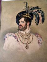 Fine 19thC Watercolour Portrait of Possibly Rob Roy McGregor ? (2 of 8)