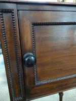 Mahogany Tray Top Bedside Table (5 of 6)