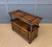 Jacobean Style Oak Monks Bench (13 of 14)