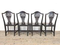Set of Four Welsh Oak Farmhouse Chairs (10 of 10)