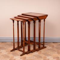 19th Century Rosewood Quartetto Nest of Tables