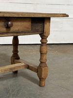 French Rustic Bleached Oak Coffee Table (10 of 17)