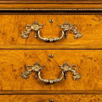 Fine George IV Burr Oak Chest of Drawers in the manner of Morel and Seddon (9 of 9)