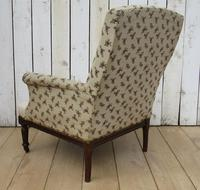 Shapely Antique Napoleon III Armchair for Re-upholstery (3 of 8)
