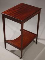 Very Good George III Period Mahogany Work or Occasional Table (3 of 6)