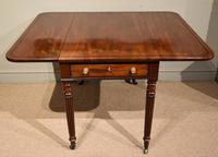 Superior Quality Regency Mahogany Pembroke Table (3 of 7)