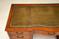 Burr Walnut Pedestal Desk c.1930 (5 of 10)