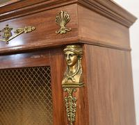 French Antique Bookcase Second Empire Bibliotheque Cabinet (11 of 20)