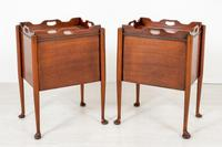 Pair of  Mahogany Queen Anne Style Bedside Cabinets (9 of 12)