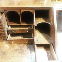 Early 18th Century Oak Bureau on Stand (2 of 7)