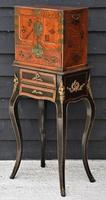 Excellent 19th Century Japanese Oriental Elm Jewellery Box / Table Cabinet (8 of 11)