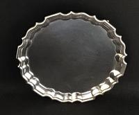 Edwardian Silver Plated Wine Tray