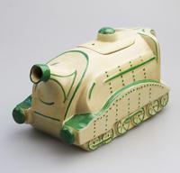 Extremely Rare Art Deco Sadler Mallard Train Pottery Teapot c.1930 (7 of 12)