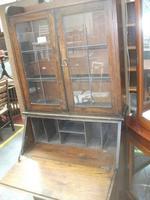 Lead Glazed Bureau Bookcase (2 of 2)
