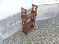 Arts & Crafts Carved Oak Book Rest (4 of 13)