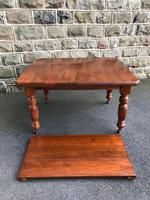 Antique Walnut Wind Out Extending Dining Table (2 of 13)