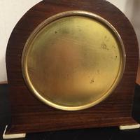 Faux Tortoiseshell Art Deco Mantel Clock (6 of 7)