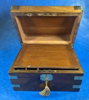 Victorian  Walnut Brassbound Writing Slope (16 of 19)
