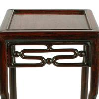 Chinese 19th Century Rosewood Stand (3 of 7)