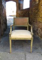 French Painted Regency Elbow Chair (9 of 9)