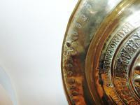 16th. century Nuremberg brass alms dish (4 of 6)