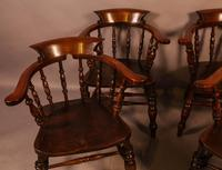 Set of 4 Victorian Captains Chairs (4 of 7)
