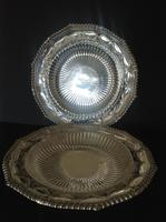 Pair of Paul Storr Antique Georgian Silver Dishes 1811