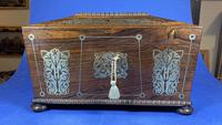 Regency Rosewood Twin Canister Tea Caddy (11 of 17)