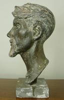 Bust of Mr Albert Pountney by Mary Milner Dickens