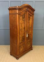 19th Century Burr Walnut Wardrobe (4 of 16)