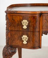 Superb Walnut Queen Anne Style Writing Table (10 of 17)