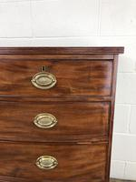 19th Century Mahogany Bow Front Chest of Drawers (13 of 18)