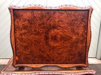 Antique Burr Walnut Nest of 3 Tables (7 of 8)