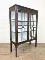 Antique Mahogany Display Cabinet (6 of 8)