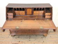 Large Georgian Oak Writing Bureau (3 of 13)