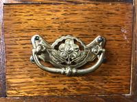 Antique Edwardian Oak Smoker's Cabinet (M-1571) (6 of 12)