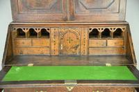 Antique Oak Bureau Bookcase (2 of 9)