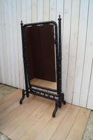 Faux Bamboo Cheval Mirror (6 of 8)
