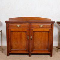 Arts & Crafts Walnut Dresser Base Sideboard 19th Century