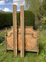Gilded & Painted French Double Bed (2 of 7)